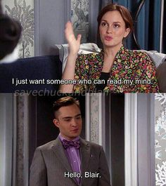 Gossip Girl - one of the best chuck and blair moments