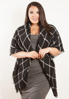 Black and White Wrap by SWAK Designs