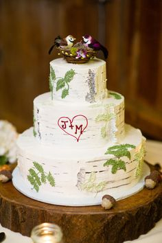 Another fern cake...so lovely!