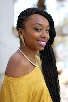 Cheveux Crépus, Teint, Tresses Collées, Tresses Afro, Maquillage Peau Noire,  Modele Tresse, Blog Beauté, Jaune, Beauté Afro