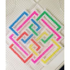 Abstract design hama beads by  hamakarma