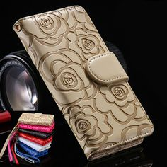 3D Camellia Flower PU Leather Case For iPhone 6S Cases For Women W Card Slot Wallet Stand Case For iPhone 7 5S 6S 6 Plus 7 Plus // iPhone Covers Online //   Price: $ 9.95 & FREE Shipping  //   http://iphonecoversonline.com //   Whatsapp +918826444100    #iphonecoversonline #iphone6 #iphone5 #iphone4 #iphonecases #apple #iphonecase #iphonecovers #gadget #gadgets