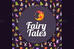 Fairy Tales Cards & Invitations Set by Decorwith.me Shop on Creative Market