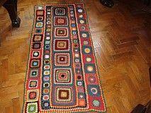 Úžitkový textil - Deka Frída - 3217408 Textiles, Bohemian Rug, Rugs, Farmhouse Rugs, Fabrics, Rug, Textile Art