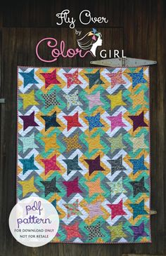 I have a new quilting pattern that you are going to love! Fly Over is a design with so much movement and interest…and it's much easier to make than it looks. The pattern is now available to download i