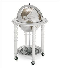 The MacArthur White Bar Globe