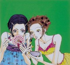 Anime with bad Art style but was a great anime Manga Anime, Anime Art, Manga Nana, Pretty Art, Cute Art, Yazawa Ai, Photowall Ideas, Nana Osaki, Bad Art