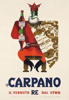 Carpano Vermouth ~ Armando Testa | #Vermouth #Carpano