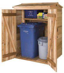Build A Trash Shed