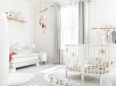 Dream nursery - all broody again Baby Bedroom, Baby Room Decor, Nursery Room, Kids Bedroom, Nursery Decor, Girl Nursery, Whimsical Nursery, White Nursery, Nursery Neutral
