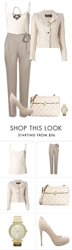 """""""Norma Style"""" by norma7-671 on Polyvore featuring moda, The Row, Warehouse, Jean-Louis Scherrer, Brooks Brothers, Michael Kors, Prada y Roberto Cavalli"""
