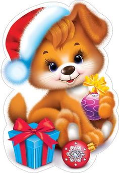Новогодние поздравления с наступающим 2018 годом Собаки в стихах Merry Christmas Gif, Christmas Graphics, Kids Christmas, Dog Crafts, Crafts For Kids, Birthday Images With Quotes, Cat Videos For Kids, Barn Quilt Patterns, Christmas Characters