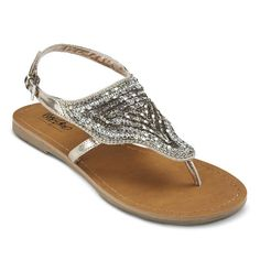 Pretty!! Women's Evelyn Thong Quarter Strap Sandals #Target #Summer