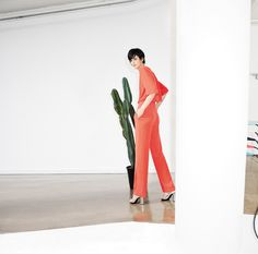 MO&Co. Edition 10 Spring/Summer 2014 Photographer: Charlie Engman Hair: Tamas Tuzes Make up: Kristin Gallegos Set design: Andrea Cellerino Video by Swell NY Model: Stella Tennant