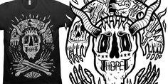 """""""NEVER LOSE HOPE"""" t-shirt design by C A T S N E E Z E"""