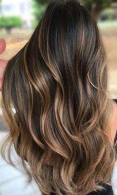 Dark Brown Hair With Low Lights, Light Brown Ombre Hair, Light Brunette Hair, Brunette Hair With Highlights, Highlights For Dark Brown Hair, Balayage Brunette, Hair Color Dark, Light Hair, Natural Dark Hair