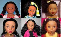 18-Inch Dolls by Alexander Dolls – DeeBeeGee's Virtual Black Doll Museum™ 18 Inch Hair, Doll Museum, Madame Alexander Dolls, 18 Inch Doll, Pretty Little, Girl Dolls, American Girl, Celebrities, Black