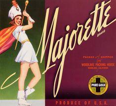 Vintage Labels, Vintage Ads, Vintage Posters, Graphics Vintage, Retro Ads, Vintage Advertisements, Orange Crate Labels, Vintage Crates, Fruit Logo
