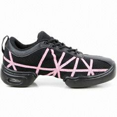 : This super lightweight mesh upper spilt sole dance sneaker has fantastic arch support for a greater flexibility. Suitable for dance forms ranging from jazz to hip hop funk.