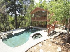 Oakhurst Vacation Rental - VRBO 321067 - 6 BR Yosemite Area Lodge in CA, Lake House with Privacy & Space for Large Groups