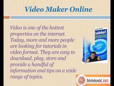 """Do you want to drive traffic to your website? Learn how to create your own video product through the expert tips and strategies in this app """"How to create your own video product"""" and start making easy money by boosting sales and traffic to your website. http://innateapps.com/HowToCreateYourOwnVideoProduct.php"""