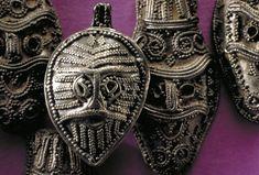 Part of Viking silver hoard found in Gotland, a Swedish island.