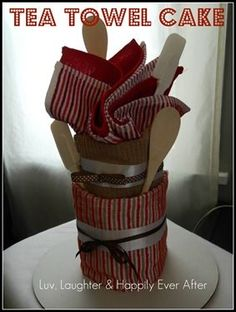 Towel Cake Instructions | Tea Towel Cake with instructions