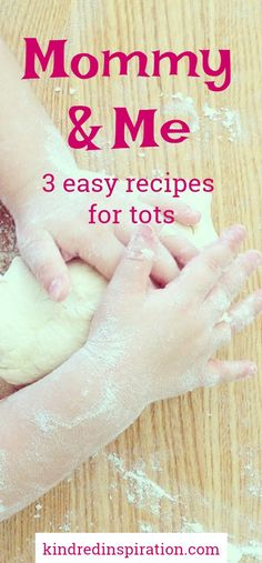 Mommy and me toddler recipes Fun easy recipes to get toddlers and kids of all ages engaged in cooking and baking. Teach children learn to make healthy foods. Pin for later! The post Mommy and me toddler recipes appeared first on Toddlers Ideas. Toddler Learning Activities, Montessori Toddler, Teaching Kids, Kids Cooking Activities, Indoor Activities, Toddler Fun, Toddler Meals, Toddler Recipes, Baking With Toddlers