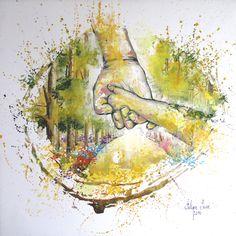 """Ilustración para """"Un Paseo por las Emociones"""" (II)"""