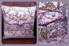 1947 Ordnance Survey Map - Cushion - Nora's Ilkley