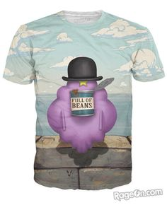 Lumpy Space Princess Magritte Beans of Man T-Shirt - RageOn! - The World's Largest All-Over-Print Online Store