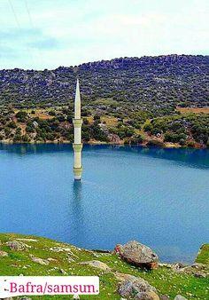 Batık minare Bafra/SAMSUN.