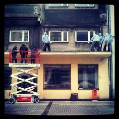Mark Jenkins @Katowice Street Art Festival || fot. K. Kubiczek