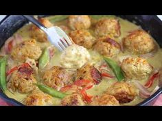 VIDEO: Green Curry Sweet Potato Chicken Meatballs + Healthy Glow Guide Flash Sale! - Fit Foodie Finds