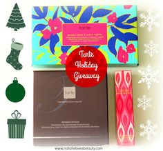 Tarte Countdown To Christmas Holiday Giveaway! | Natalie Loves Beauty