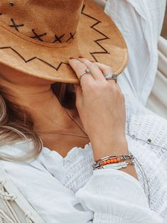 Silver ring combination and armparty Armparty - Ringcomination - iXXXi Jewelry - silver - boho - festivallook - gardenlook - head - summeroutfit - offschouldertop - bohemia - wanderlust Silver Jewelry, Silver Rings, Bohemian Summer, Arm Party, Boho Festival, Summer Vibes, Espadrilles, Summer Outfits, Wanderlust