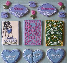 Sensibility-themed cookies