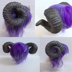 Large ram horns, naturally painted few shades of browns. Comes mounted/attached to a 1 inch headband, or you can get them un-attached.   Lighter than foam and as tough as resin, these are amazing and big, with true shaped ridges and stunning curl appeal. The only full taurus set that we have seen listed. They are really fantastic to behold and incredibly light weight, No other set like this will come close to being as light. Like everything else we develop, we believe that comfort should be…