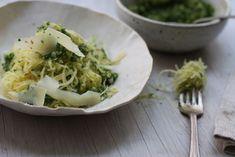 Roasted Spaghetti Squash and Clean Kale Pesto