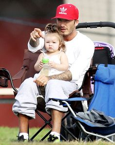 Harper Beckham, the adorable youngest child and only daughter to Victoria and David Beckham, is forever being cuddled and coddled by her dashing father. Here, her first two years with her proud papa in pictures.