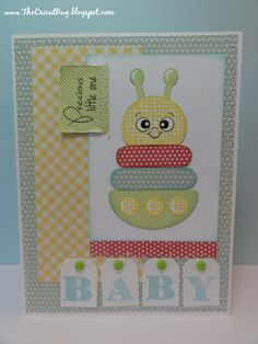 The Cricut Bug: BABY - could be done with punches
