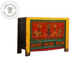 Aparador de Gansu en madera de álamo I