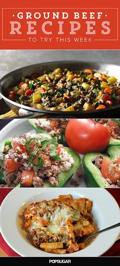 19 Ground Beef or Ground turkey Recipes to Try