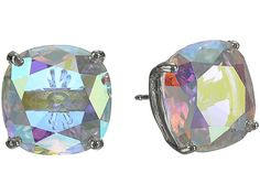 Kate Spade New York Small Square Studs Blue - Zappos Couture