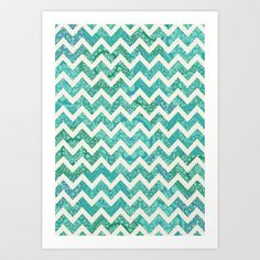 Rythm Of The Ocean Art Print by Tangerine-Tane - $16.00