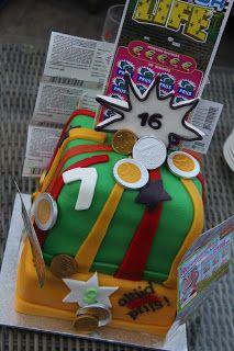 lekker zoet: Krasloten taart voor Kai 16 jaar
