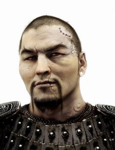 Mongol warrior by garcar