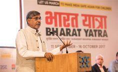 Shri Rajnath Singh Assures Anti-trafficking Bill gets Parliament Nod Kailash Satyarthi, Bill Gets, Home Minister, Government Agencies