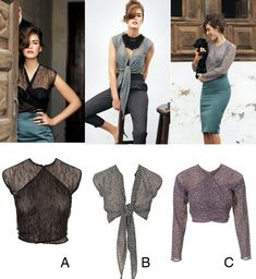 Draft your own variation of this beautiful top. You can choose sleeves or sleeveless based on your preference. Our instructions include measurements and diagrams for how to draft and cut the pattern pieces.