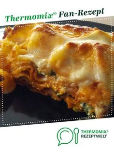Spinach lasagna from mabadd. A Thermomix ® recipe from the main course with vegetables category at www.de, the Thermomix ® Community. Spinach Lasagne Gabi K. Thermomix Spinach lasagna from mabadd. A Thermomix ® recipe from the Healthy Chicken Recipes, Crockpot Recipes, Vegetarian Recipes, Spinach Health Benefits, Dinner Recipes, Dessert Recipes, Desserts, Drink Recipes, Spinach Lasagna